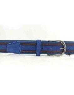 Cinturon Lona Sax Jeans-Cobalto