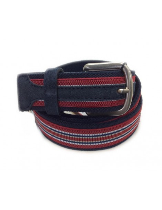 Cinturon Largo Especial Elastico Congo Azul
