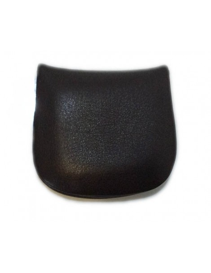 Monedero Blandito Tacon de Piel en Negro