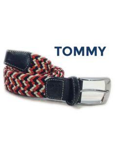 Cinturon Elástico Trenzado Combinado con Colores