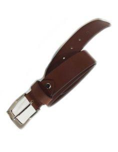 Cinturon de Cuero Liso 35mm. color Cuero