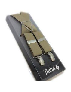 Tirantes Lisos Espalda de 30mm Pinza de Niquel