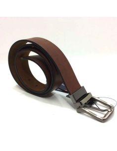 Cinturon Reversible Bellido Combinado en color Cuero