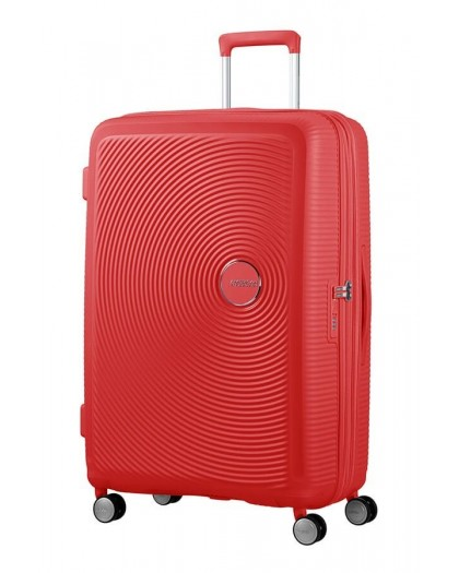 Maleta Grande American Tourister Soundbox Coral Red