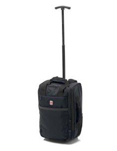 Bolso de Viaje mochila para Ryanair con Ruedas Gladiator Trick Negro