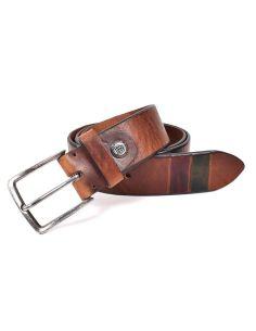 Cinturon de Bellido Combinado color Cuero