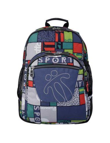 Mochila escolar de Totto Crayoles color 8L9