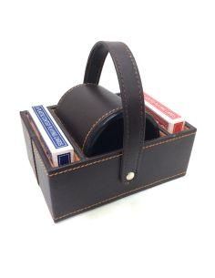 Juego de Pocker tipo cesta con Cubilete dados y Cartas