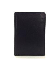 Billetero Tarjetero de JL Piel Classic en color Negro