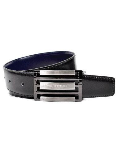 Cinturon Reversible de Bellido con Hebilla Chapon Negro con Cuero