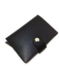 Tarjetero de Piel Automático Kronos en Negro RFID