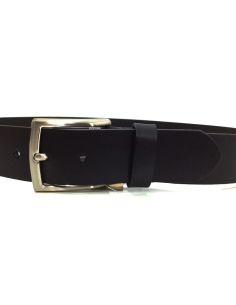Cinturon Cuero Liso 40 Negro