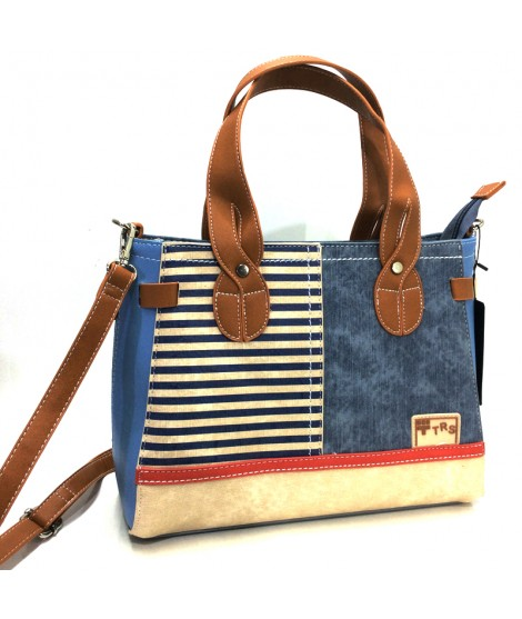 Bolso con dos Asas Torrens Daily Style Mediterraneo Jeans