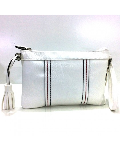Bolso de Matties Spicara tipo Cartera color Blanco