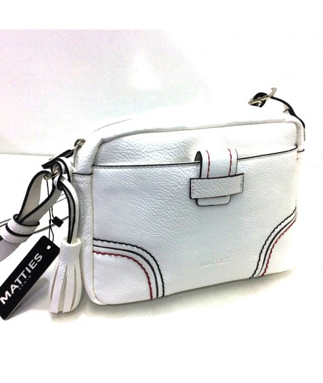 Bolso de Matties Spicara tipo Bandolera color Blanco
