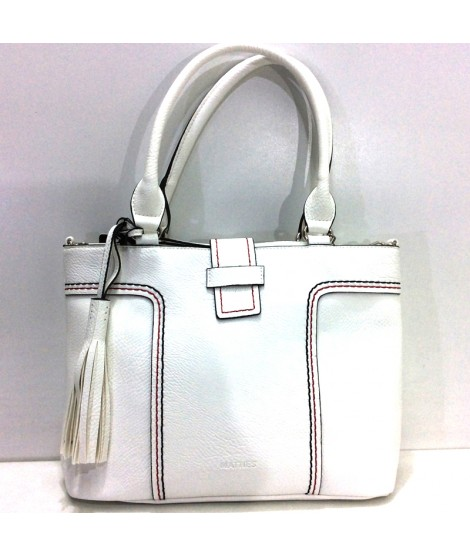 Bolso de Matties Spicara tipo Shopping color Blanco