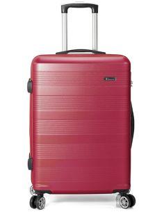Maleta de Viaje para Cabina Rojo Benzi ABS 8 Ruedas