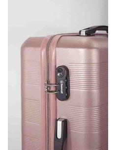 Maleta de Viaje para Cabina Rosa Benzi ABS 8 Ruedas