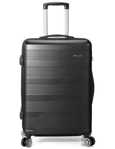 Maleta de Viaje para Cabina Negra Benzi ABS 8 Ruedas