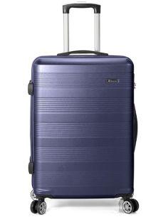Maleta Mediana de Viaje Azul Benzi ABS 8 Ruedas