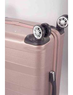 Maleta grande de Viaje Rosa Benzi ABS 8 Ruedas