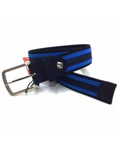 Cinturon elástico Combinado Marino con Azul Claro