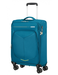 Maleta de Mano Expandible American Tourister SummerFunk Azul Teal