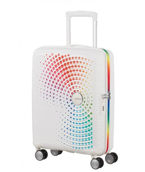 Maleta para Cabina American Tourister Soundbox Rainbow Dots