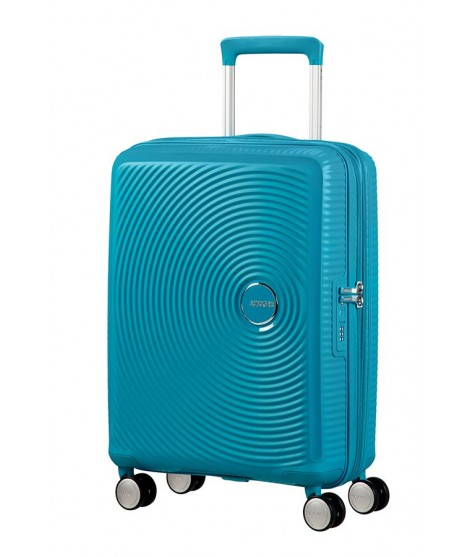 Maleta para Cabina American Tourister Soundbox Summer Blue