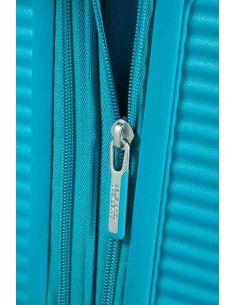 Maleta para Cabina American Tourister Soundbox Summer Blue