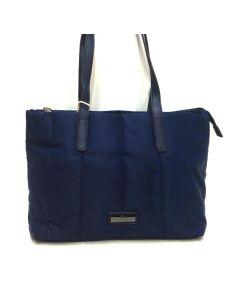 Bolso Mujer Shopping Charro Textil en color Azul