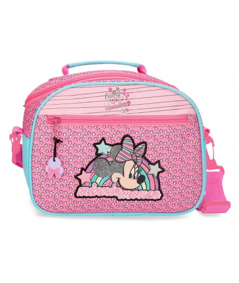 Neceser Minnie Mouse Pink Vives tipo bandolera