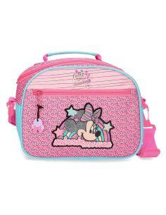 Neceser Minnie Mouse Pink Vives tipo bandolera