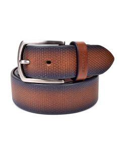 Cinturon Piel Grabada en cuero Miguel Bellido Sport