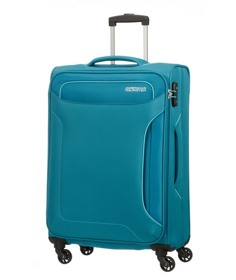 Maleta mediana American Tourister Holiday Heat en Petrol Green
