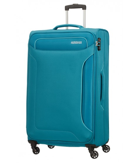Maleta Grande American Tourister Holiday Heat en Petrol Green