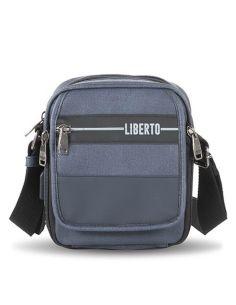 Bolso Bandolera con USB de Liberto en Marino Mediano