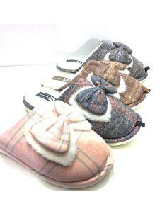 Zapatillas Casas Mujer Abiertas decoradas con Lazo