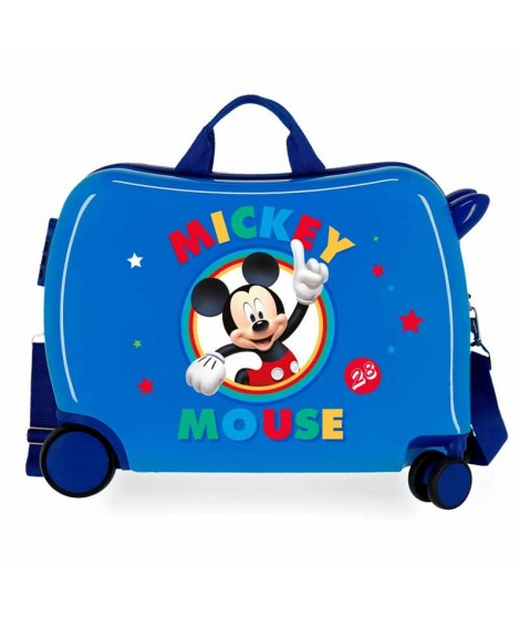 Maleta de Mickey Circle en color Azul