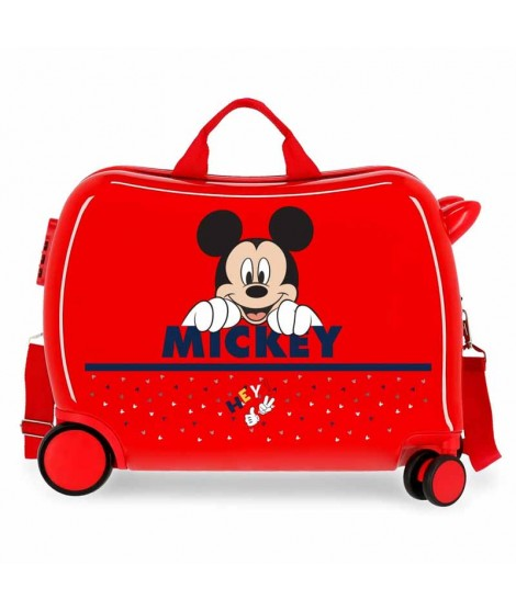 Maleta de Mickey Happy en color Roja