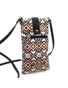 Bolso para llevar el Movil Caramelo Amber Tribal