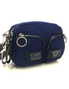 Bolso Bandolera Caramelo Alba en Azul Marino