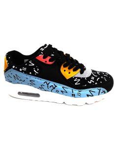 Zapatillas deportivas Unisex Multicolor Negro