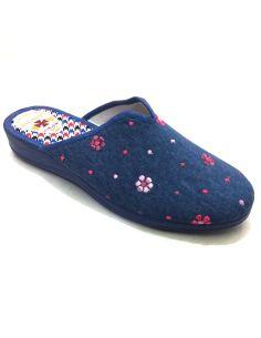 Zapatillas de Casa Mujer Ducados flores