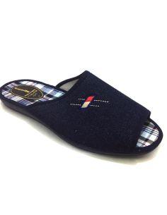 Zapatillas de Casa hombre Tejano Alcalde Abiertas