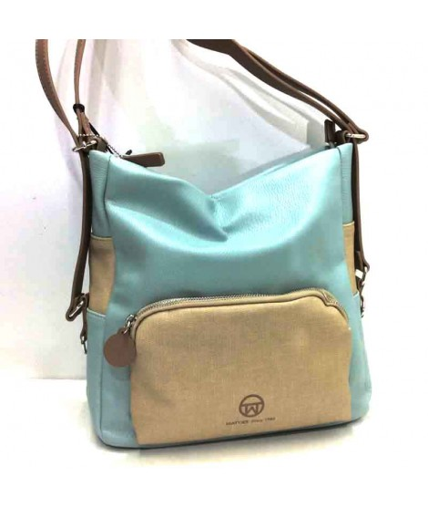Bolso convertible en mochila de Matties Sport en color Azul