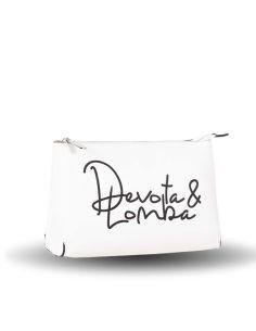 Bolso de mano Neceser Devota & Lomba Signed en Blanco