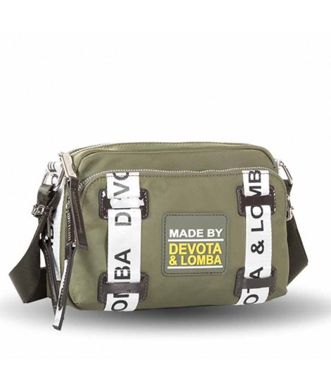 Bolso Devota & Lomba Rubber color Kaki