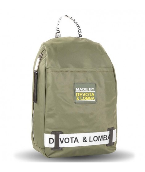 Mochila Antirrobo Devota & Lomba Rubber en color Kaki