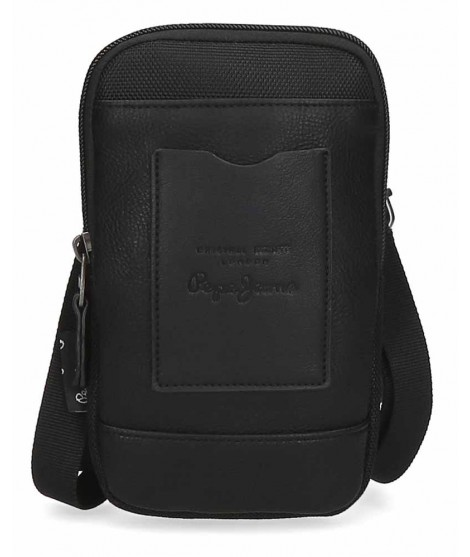 Bolso porta movil Pepe Jeans Counter Negro